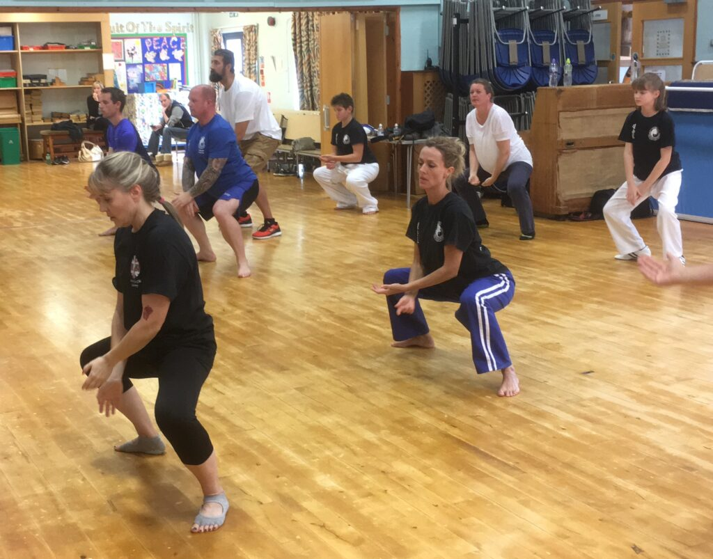Anette teaching the 8 Movements